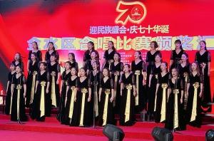 郑州金水区政府歌唱比赛开幕 悦风美妆担任官方造型机构